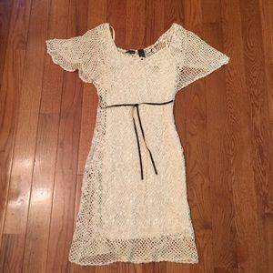 Victoria's Secret summer cotton crochet dress